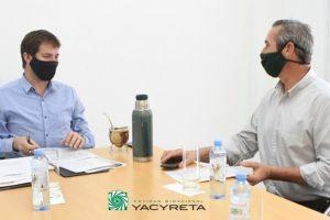El Director Ejecutivo recibió al Ministro de Ecología de Misiones