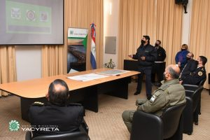 Yacyretá potenciará su trabajo con las Fuerzas de Seguridad