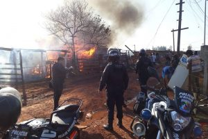 Brindan asistencia a las seis familias afectadas por un incendio Posadas