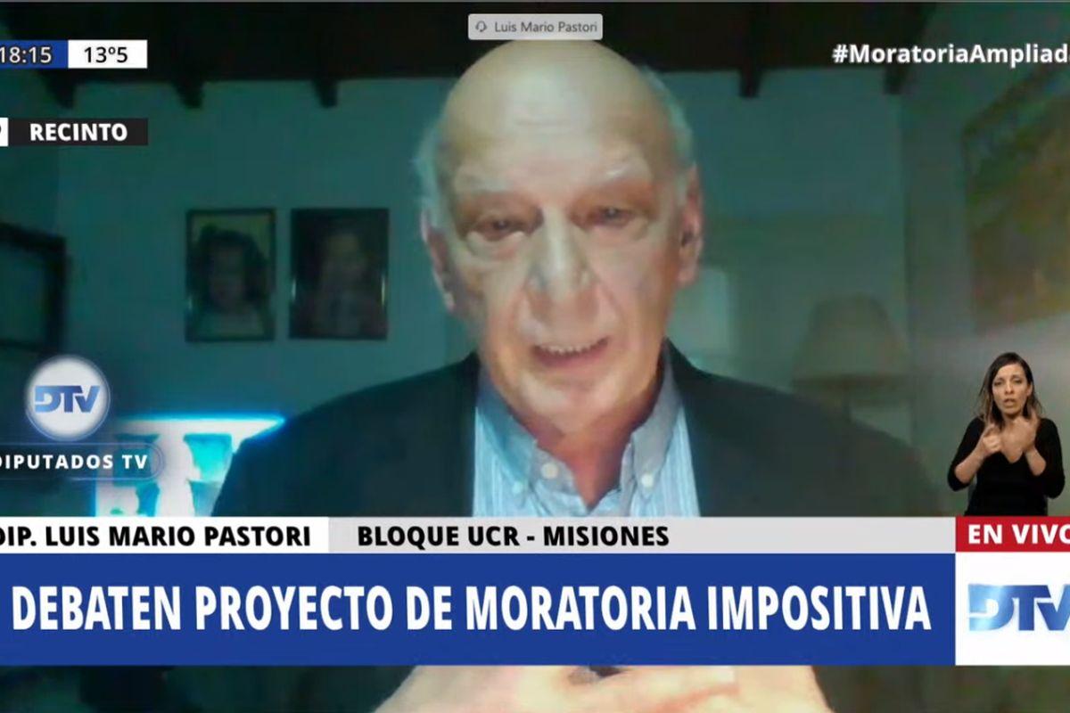 Moratoria: Pastori explicó las razones de la abstención de Juntos por el Cambio