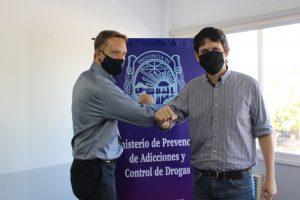 El Ministerio de Prevención y el IPS coordinaron acciones para la atención de pacientes