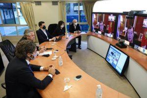 Coronavirus: El Presidente y gobernadores analizaron la continuidad de medidas sanitarias