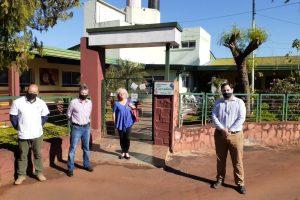 Donaron nuevo techo para hogar de ancianos Carmelina de Alem