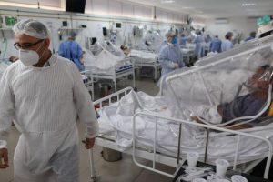 Brasil superó los 95.000 muertos y Bolsonaro se niega a ayudar a trabajadores de salud