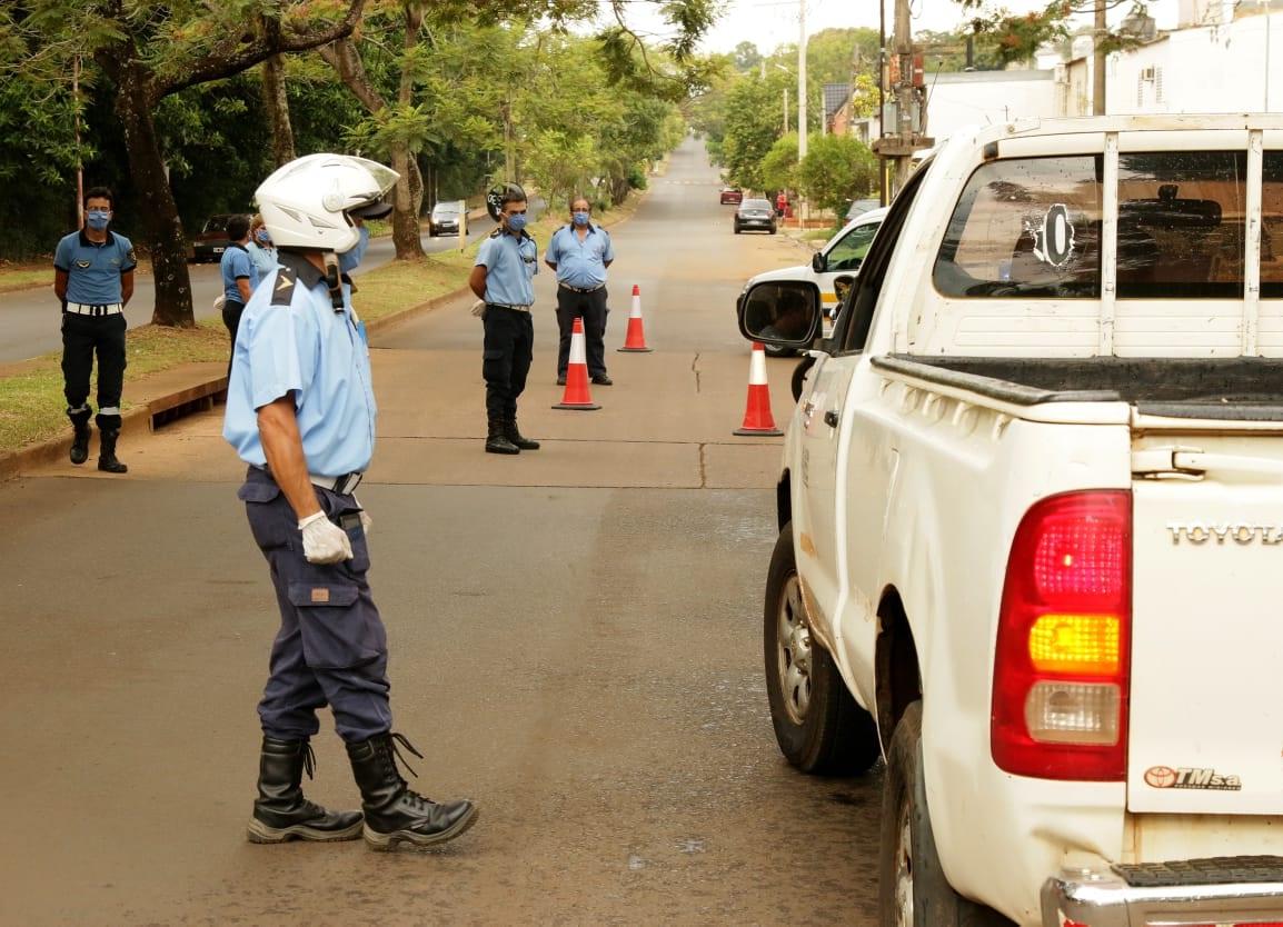 Se labraron más de 200 infracciones a conductores de vehículos