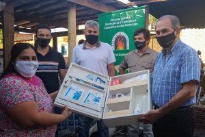 Stelatto entregó herramientas para agentes de la economía social