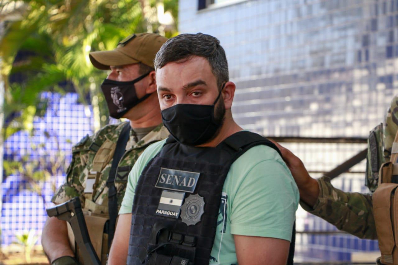 Detienen en Ciudad del Este a un líder criminal brasileño y lo entregan a las autoridades de su país