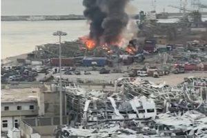 Beirut, zona de desastre: así quedó la capital de El Líbano tras la explosión en el puerto