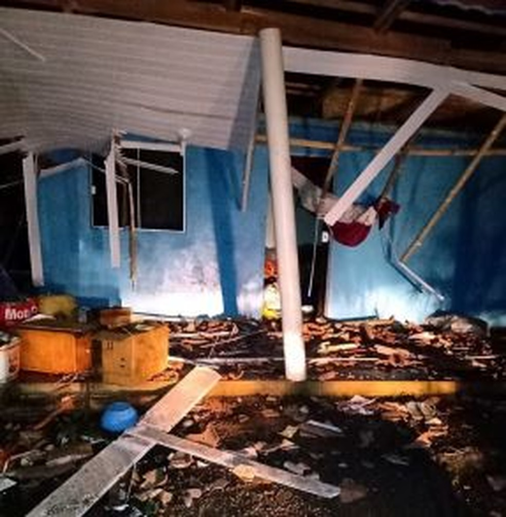 Tormentas dejan un rastro de destrucción en Santa Catarina