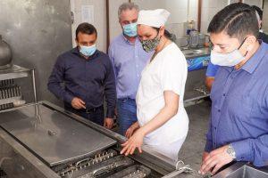 IFAI entregó junto con el Gobernador subsidio a la Cooperativa Leandrito