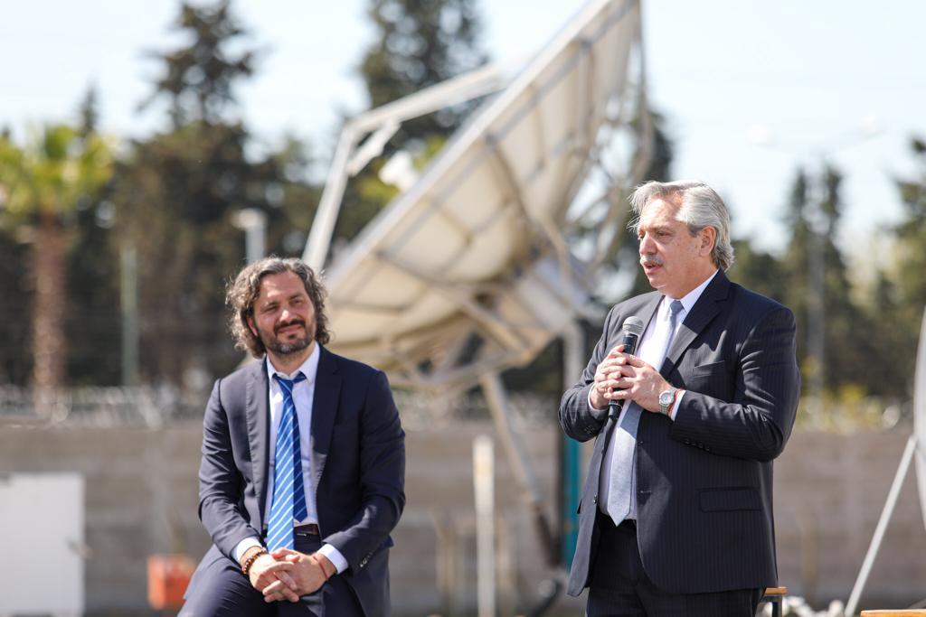 """Conectividad: """"Nuestro compromiso sigue siendo pensar en la Argentina del futuro"""", dijo Alberto Fernández"""