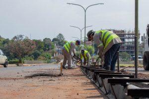 Importante operativo de limpieza y puesta en valor de la ruta nacional 12