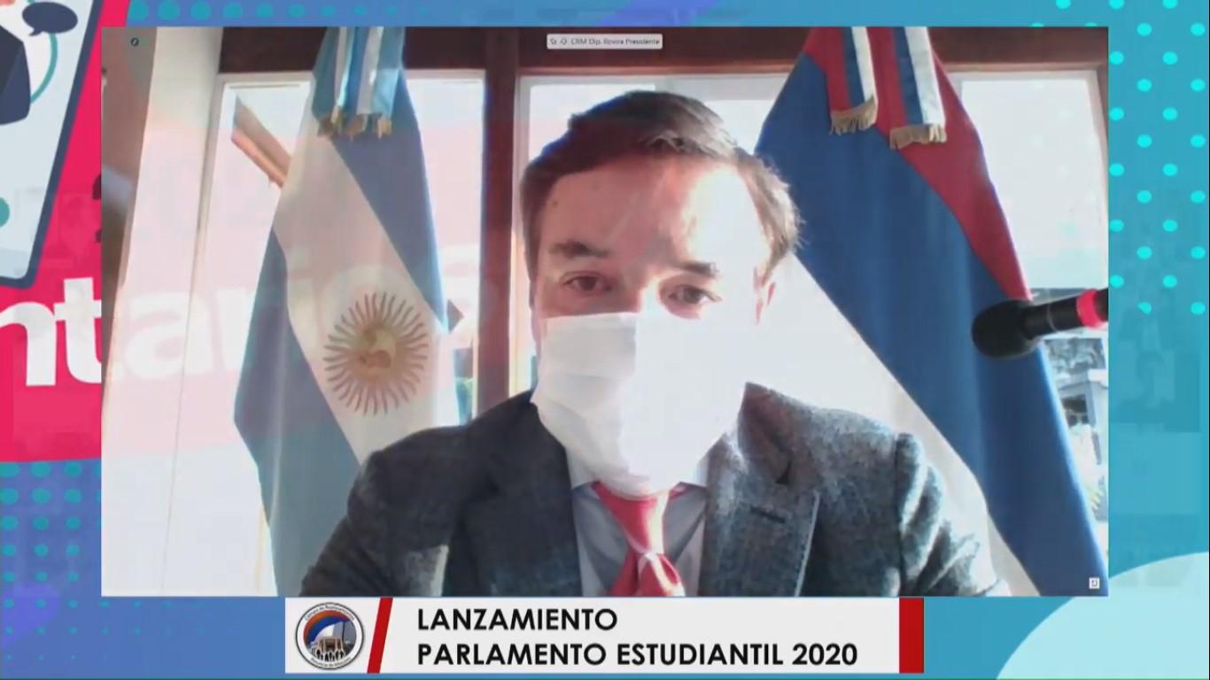 "Carlos Rovira: ""El Parlamento Estudiantil cambió a la política"""