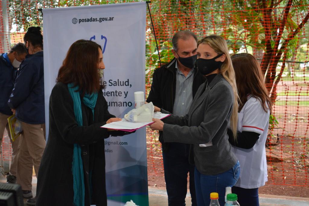 En Posadas inició un nuevo operativo LIRAa para prevenir el dengue