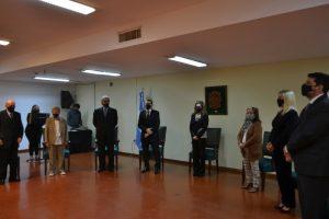 Realizaron un reconocimiento a Magistrados y Funcionarios