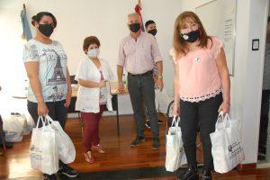 Derechos Humanos: entregaron elementos de protección a residencias de adultos mayores