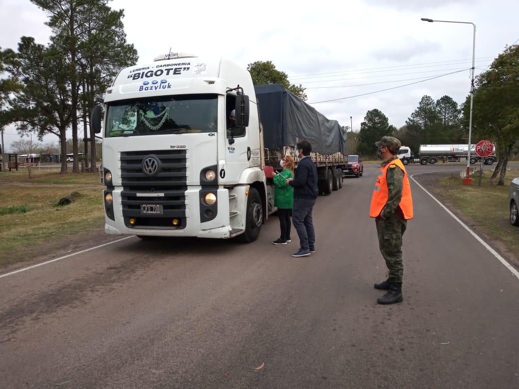 Corrientes: Intendente hace guardia permanente en accesos de San Roque
