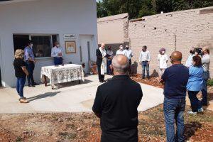 El Ministerio de Prevención de Adicciones acompañó la bendición del Oasis de Misericordia en Oberá