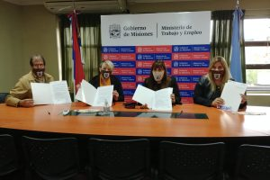 El Ministerio de Trabajo y la ONG Sueño para Misiones firmaron un acuerdo de colaboración