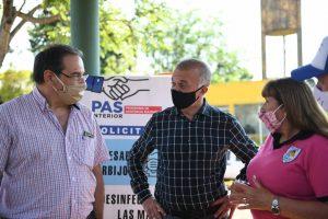 Arce participó del PAS Interior en Pueblo Illia