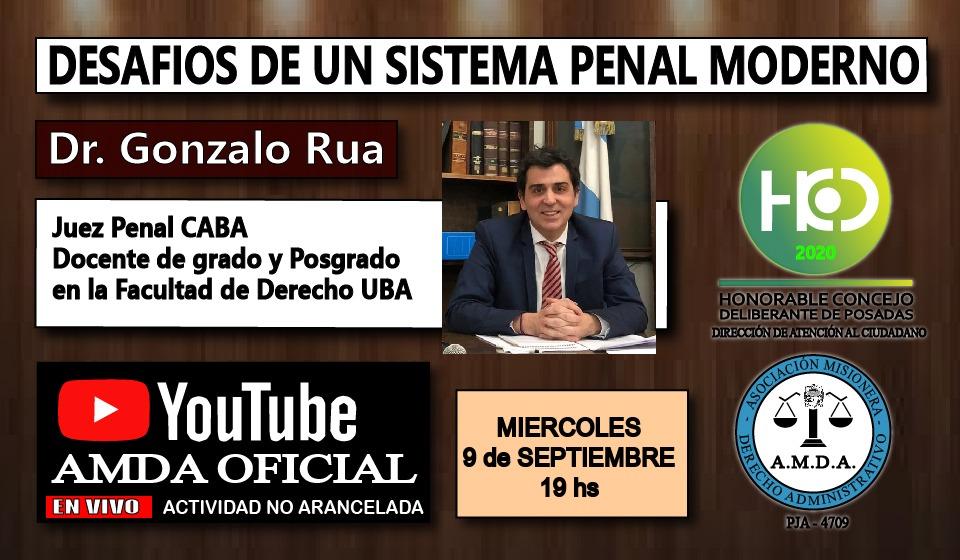 """Disertarán sobre los """"Desafíos de un sistema Penal Moderno"""""""