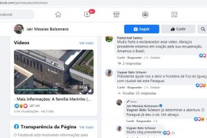 Bolsonaro anuncia vía redes sociales la apertura de puente con Ciudad del Este