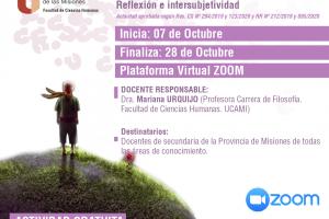La UCAMI lanza el IV Desafío Filosófico destinado a docentes de secundaria bajo modalidad virtual