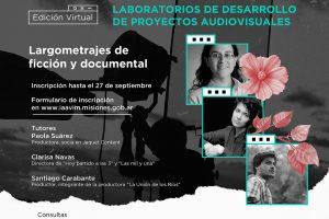 Referentes del sector audiovisual acompañarán el desarrollo de largometrajes misioneros
