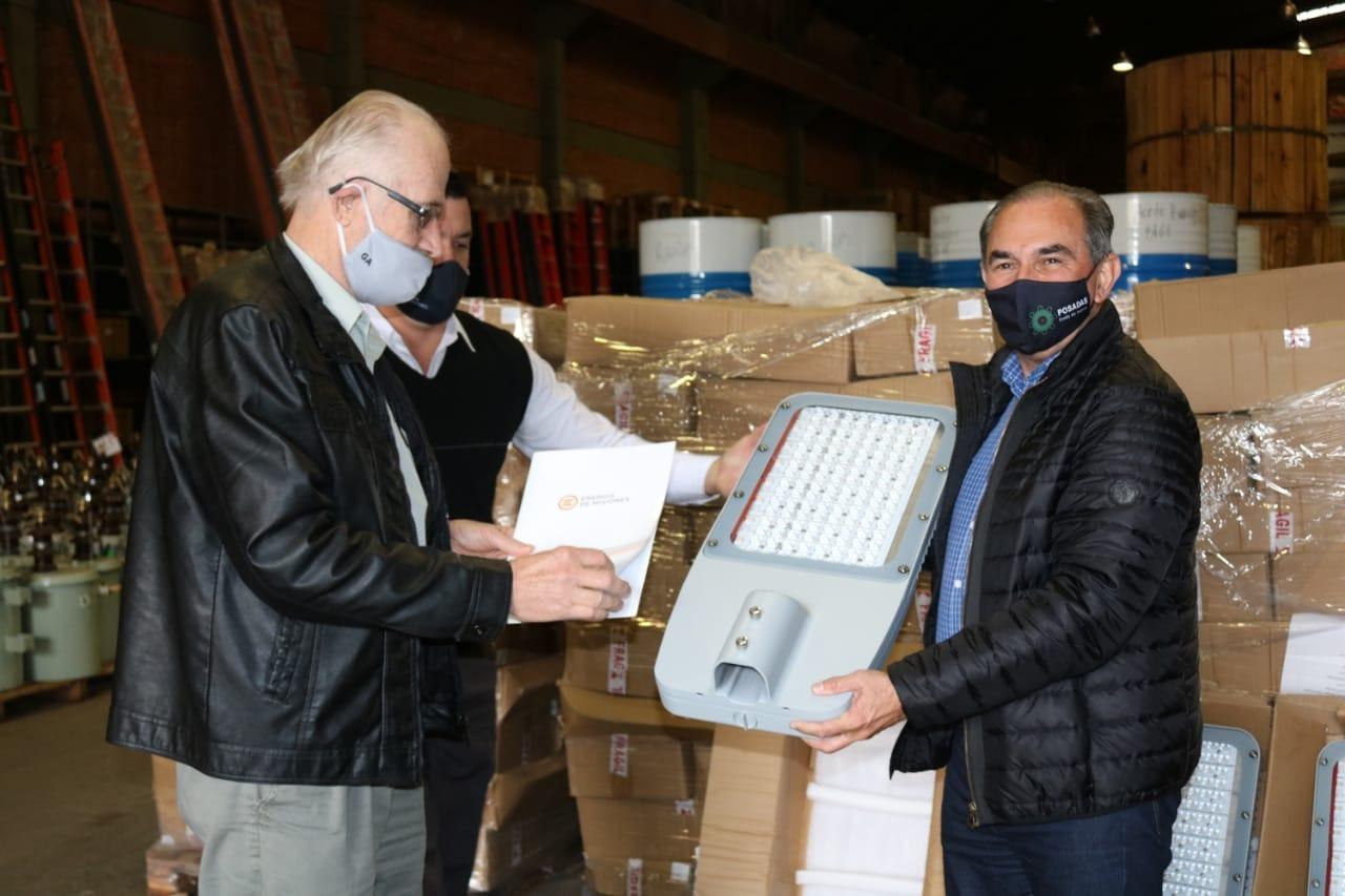 Stelatto firmó un convenio con Energía de Misiones