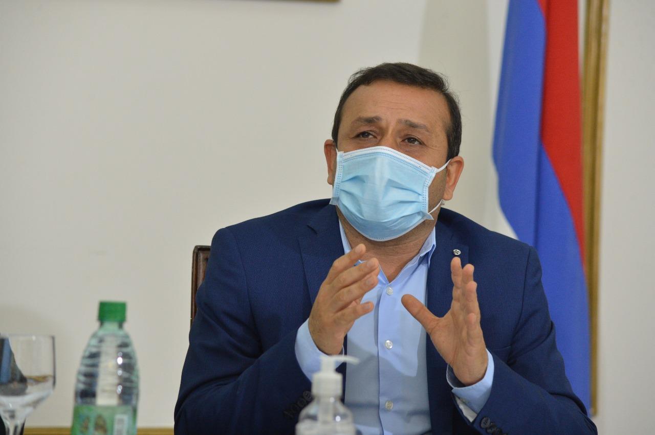 Herrera Ahuad apeló a la responsabilidad social para evitar nuevos contagios de coronavirus