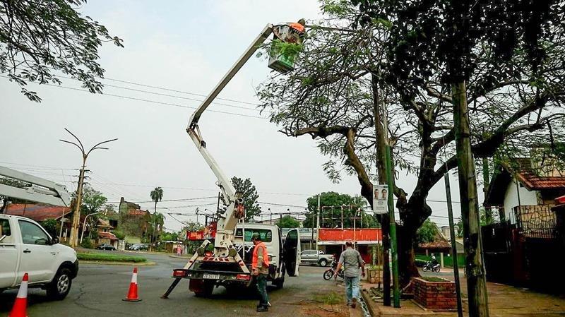 Mejoraron la iluminación en Corrientes y Roque Pérez