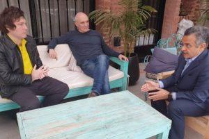 Javier Milei confirmó que acompañará a José Luis Espert en política