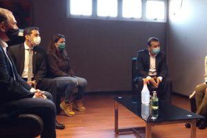 Stelatto acompañó a Herrera Ahuad en la visita de la ministra de Seguridad Sabina Frederic