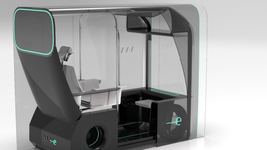 """Diseño innovador: un taxi autónomo Concept ganó el premio """"nuevos diseñadores"""" de Ford Europa"""
