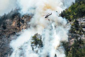 En medio de la ola de incendios se presenta en el país una revolucionaria tecnología para extinguirlos