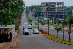 Posadas: mejoran la fluidez vehicular en la avenida Urquiza