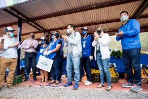 El Gobernador inauguró un nuevo mercado de la Soberanía Alimentaria en Mártires