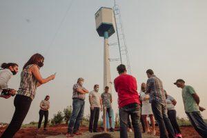 El Gobernador entregó una ambulancia y supervisó obras de agua potable en General Urquiza