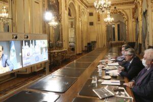 El Presidente analizó con los gobernadores la situación epidemiológica de las provincias