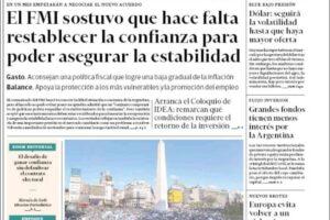 Las tapas del martes 13: Banderazo, Messi en Bolivia y otra semana mirando al dólar