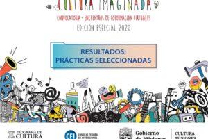 Ya están los ganadores de la convocatoria Cultura Imaginada, Edición Especial 2020