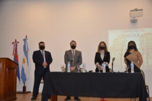 Lanzaron la revista de Derecho y Campus Virtual del Colegio de Abogados de Misiones