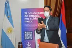 Misiones incorporó 10 cámaras térmicas para los controles de bioseguridad
