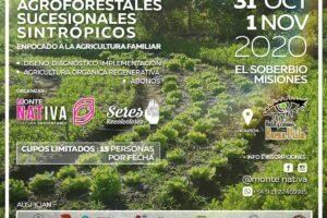 Curso sobre sistemas agroforestales sintrópicos en El Soberbio