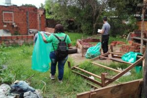 Dengue: control focal casa por casa en los barrios de Villa Urquiza de Posadas