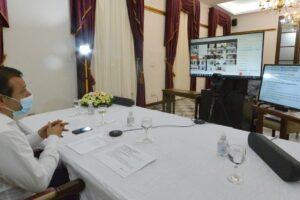 El Gobernador reunió virtualmente a algunos intendentes misioneros