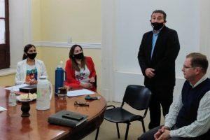 Se realizó la primera reunión de la Comisión Asesora que trabaja para el ordenamiento institucional de Salto Encantado