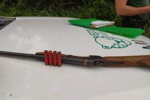 Guardaparques incautan armas de cazadores furtivos en la reserva de Papel Misionero