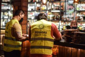 Controles de nocturnidad: Se desarticularon fiestas clandestinas en la ciudad