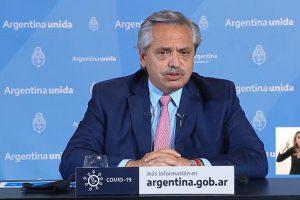 Fernández anunció que el Aislamiento Social se extiende hasta el 25 de octubre
